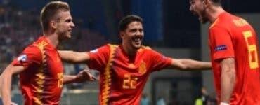 Spania U21. Spania este câștigătoarea Campionatului European U21