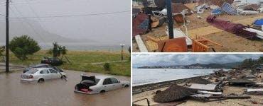 Furtună devastatoare în Grecia. 7 morți, printre care și doi români