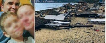 Furtuna din Halkidiki. Soțul românei care a murit împreună cu fiul ei în furtuna din Grecia a ajuns în Cluj
