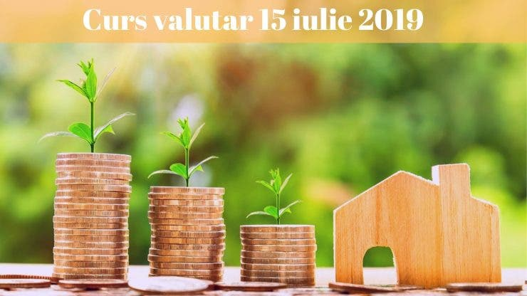Curs valutar 15 iulie 2019. Câți lei costă un euro astăzi