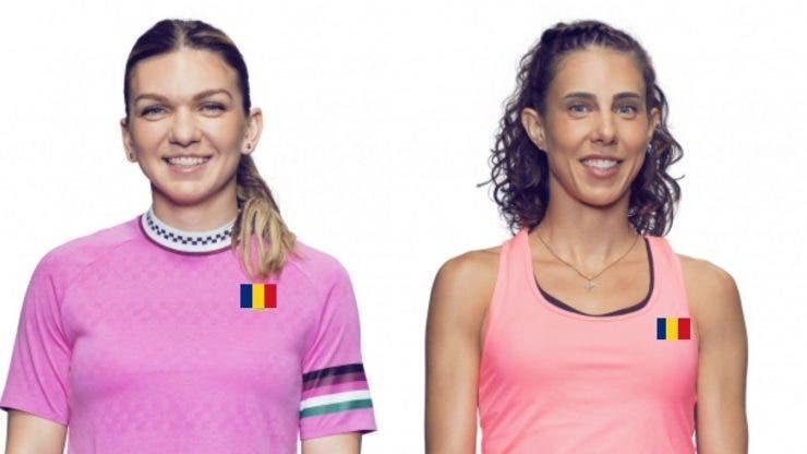 Simona Halep și Mihaela Buzărnescu. Adversare la Wimbledon 2019