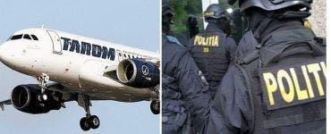 DIICOT efectuează percheziții la compania aeriană TAROM