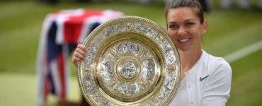 Simona Halep va prezenta trofeul Wimbledon pe Arena Națională