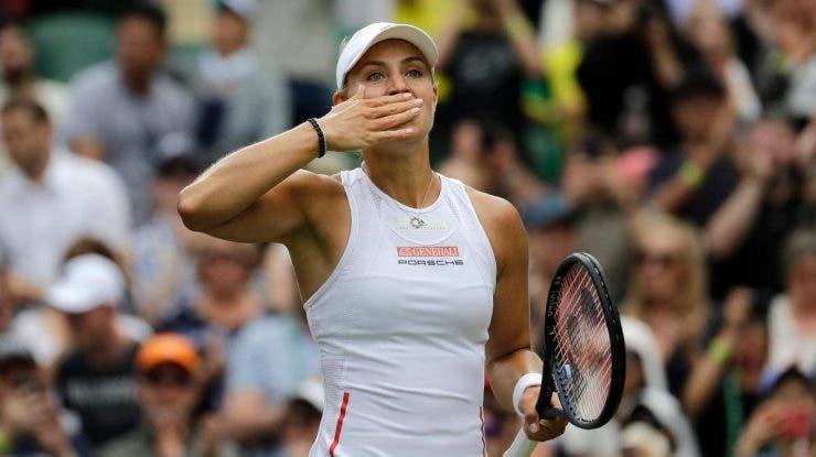 Angelique Kerber, deținătoarea trofeului de la Wimbledon a fost eliminată