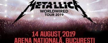 Metallica susține un nou concert astăzi la București