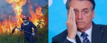 Președintele brazilian refuză ajutorul oferit de G7 pentru stingerea incendiilor din Pădurea Amazoniană