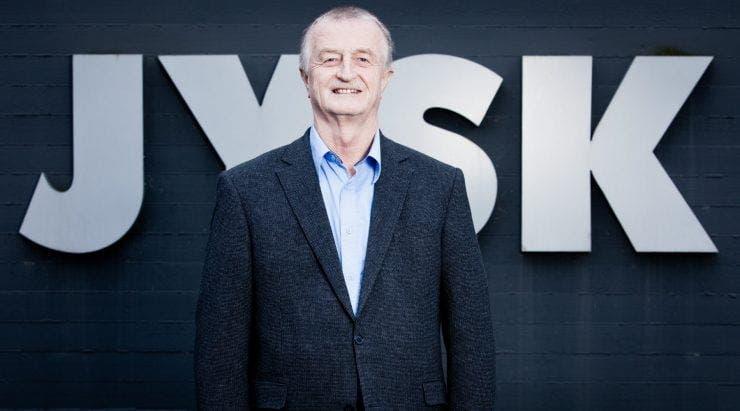Fondatorul companiei JYSK, Lars Larsen a murit la 71 de ani