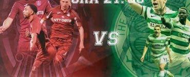 CFR-Celtic, de la ora 21.00