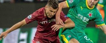 CFR Cluj - Slavia Praga 0-1