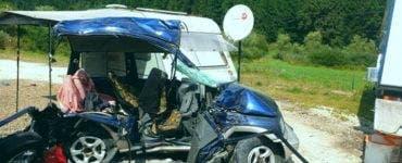 Accident GRAV în Mureș. Trei morți, între care și un copil