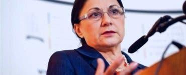 Reacția Ecaterinei Andronescu după ce a fost DEMISĂ din funcția de ministru al Educației