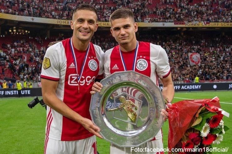 Răzvan Marin a fost titular la Ajax