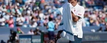 Roger Federer out de la Cincinnati