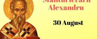 """Sfântul Alexandru""""protectorul omenirii"""".Tradiții și obiceiuri care se păstrează și în ziua de azi"""
