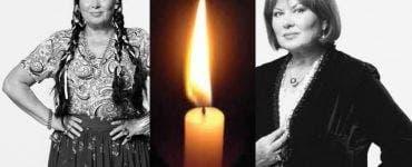 Actrița Florina Cercel va fi înmormântată astăzi la Cimitirul Bellu