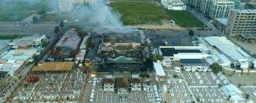 Incendiul de la fostul club Bamboo din Mamaia.Proprietarul nu are asigurare
