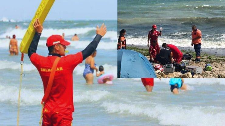 Turiștii își riscă viața pe litoral. Steagul roșu este ignorat de aceștia