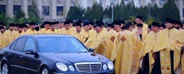 Mașinile Patriarhiei Române nu vor plăti taxa pentru mașinile Euro 3