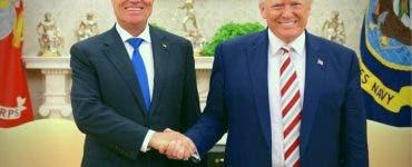 Președintele României s-a întâlnit cu Președintele SUA, Donald Trump