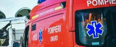 Accident grav în Prahova. Autobuz cu 20 de pasageri implicat într-un accident