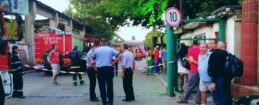 Explozie la o fabrică de prefabricate din sectorul 6 al Capitalei. O persoană a murit