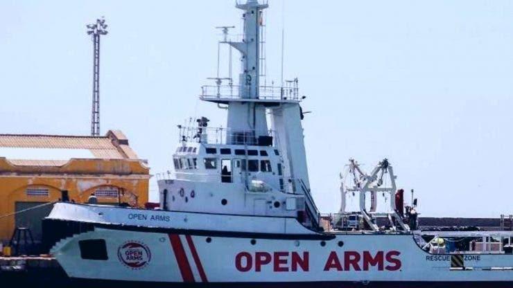 România se numără printre țările care vor primi imigranți de la bordul Open Arms
