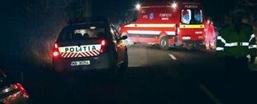 Accident grav la Sibiu. Un tractorist băut a zdrobit doi tineri