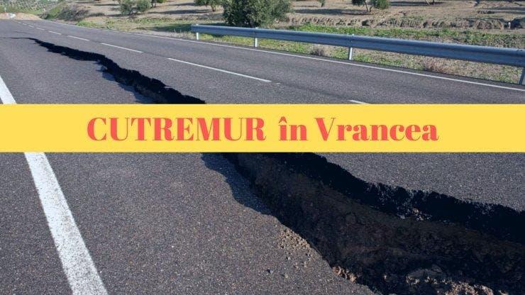 Cutremur produs luni seara în Vrancea. Ce magnitudine a avut seismul