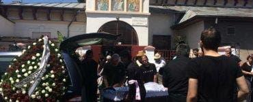 Raluca, singura dintre fostele neveste ale lui Marcel Toader care a venit la înmormântare