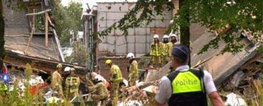 Explozie în Belgia. Mai multe persoane sunt prinse între dărămături
