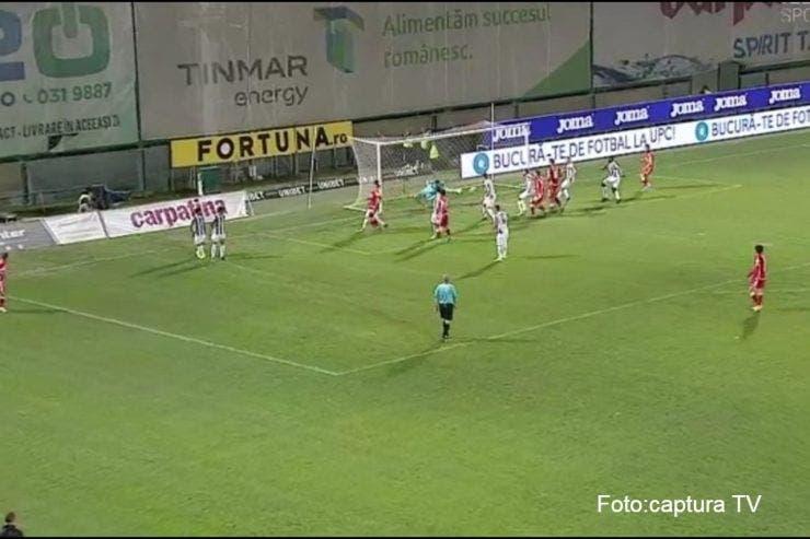 Astra întoarce rezultatul și câștigă cu Dinamo