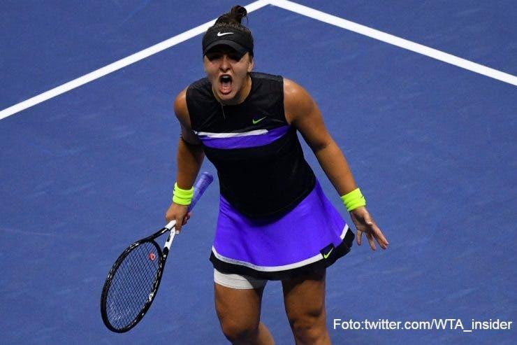 Bianca Andreescu s-a calificat în finala US Open