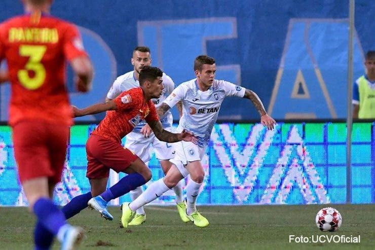 FCSB câștigă derby-ul cu Craiova