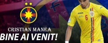 Cristi Manea a semnat cu FCSB