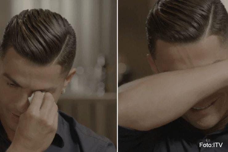 Cristiano Ronaldo a izbucnit în lacrimi
