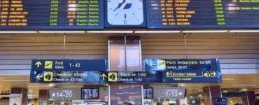 Pasager canadian mort pe Aeroportul Otopeni
