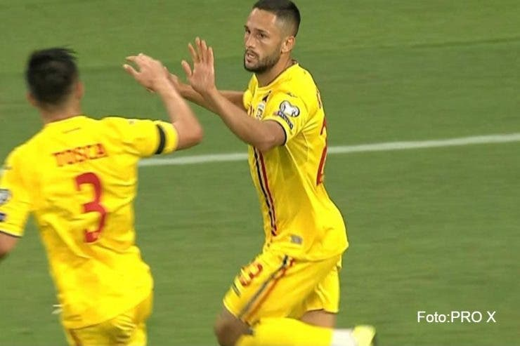 Florin Andone a inscris in meciul cu Spania