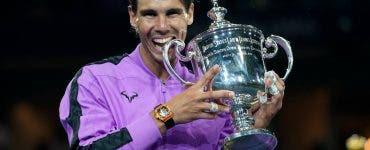 Nadal, al 19-lea trofeu de Grand Slam