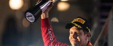 Sebastian Vettel, prima victorie în acest an