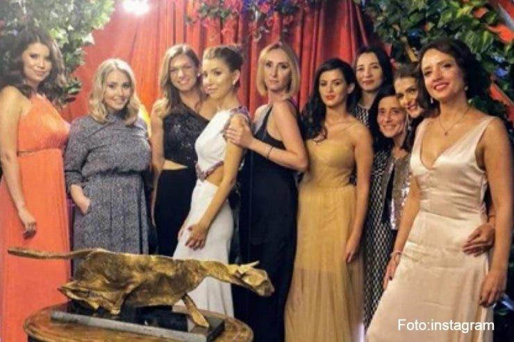 Simona Halep s-a distrat la o nuntă