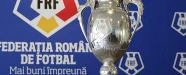 Tragerea la sorţi a optimilor Cupei României