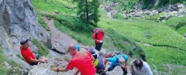 Cinci copii au fost recuperați de salvamontiști din Munții Bucegi