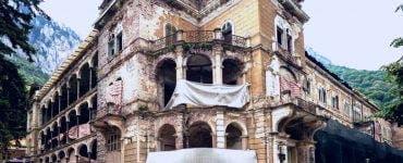 Hotelul Traian din Băile-Herculane este scos la vânzare pe OLX