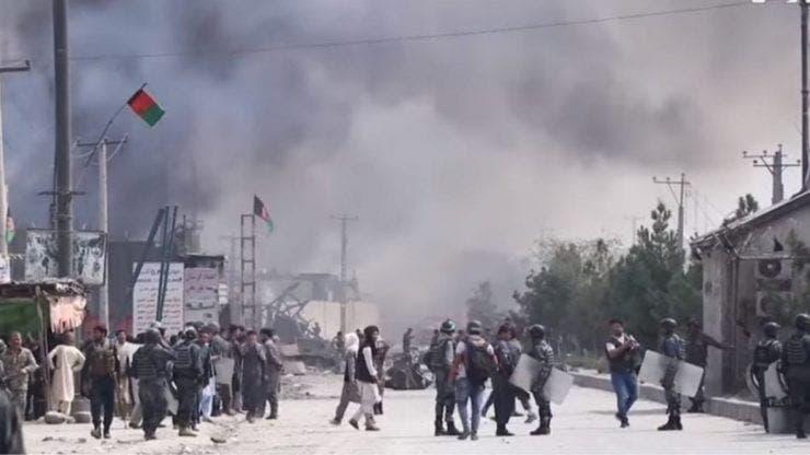 Un nou atac terorist la Kabul. O rachetă a fost lansată în apropierea Ambasadei SUA