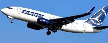 O aeronavă TAROM a aterizat de urgență în Germania