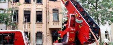 Doi români, morți într-un incendiu uriaș, în Germania