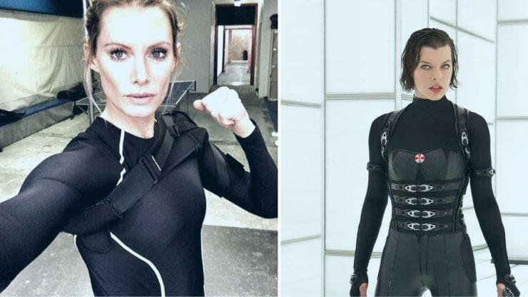 """Dublura Millei Jovovich din filmul """"Resident Evil"""" mutilată pe viață"""