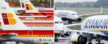 Companiile aeriene Ryanair și Iberia vor fi în grevă în următoarele zile