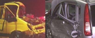 Accident grav în Vrancea. Un copil de zece ani și alte două persoane și-au pierdut viața într-un accident