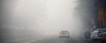 Avertizare de COD GALBEN de ceața. Patru județe vor fi afectate